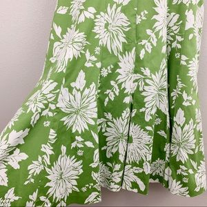 Jones Wear Dresses - Jones Wear Spring Green White Floral Dress
